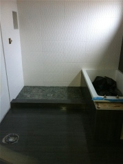 bathroom tile layout